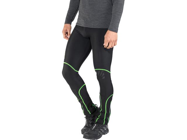 Karpos Alagna Pantalones Hombre, black/green fluo